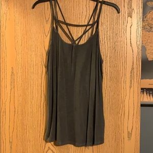 Strappy Grey American Eagle Tank